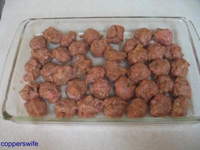 Orange Glazed Meatballs 002