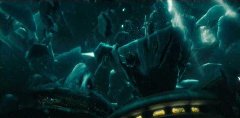 G.I. Joe The Rise of Cobra Bill Sinking Ice
